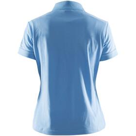 Craft Classic T-shirt piqué Femme, aqua